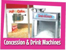 Concession & Frozen Drink Machines