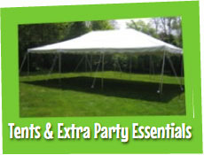 Tent and Extra Party Essentials